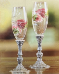 Western Moments® Silverado Champagne Flutes - Set Of 2
