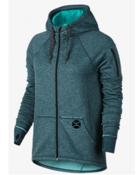 Hooey® Ladies' Teal Full Zip Hoodie