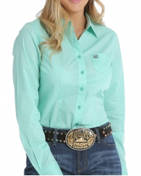Cinch® Ladies' Mint Button Up Shirt