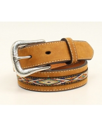 Ariat® Boys' Ribbon Inlay Belt