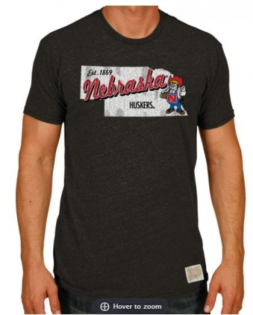 Retro Brands® Men's Nebraska Tee