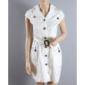 Just 1 Time® Ladies' Cap Sleeve Button Dress