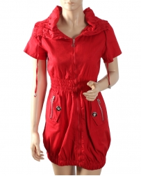 Just 1 Time® Ladies' Casual Full Zip Dress