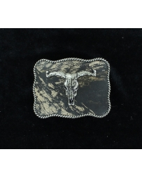 Nocona® Boys' Mossy Oak Skull Buckle