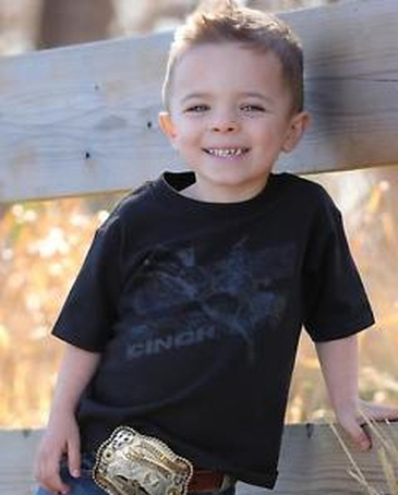 Cinch® Boys' Toddler Bucking Tee