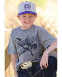 Cinch® Boys' Bucking Tee