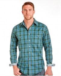 Rough Stock® by Panhandle Slim Men's Plaid Long Sleeve Snap