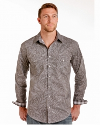 Rough Stock® by Panhandle Slim Men's Paisley Long Sleeve Shirt