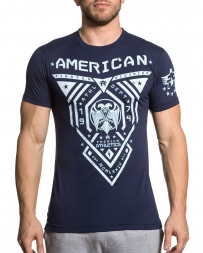 American Fighter Men's Blue Mountain Tee