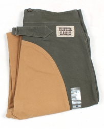 Frontier Classics® Men's Saddle Back Pants - Moss/Tan