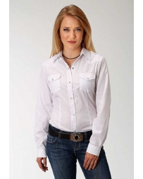 Roper® Ladies' Long Sleeve Western Style Shirt