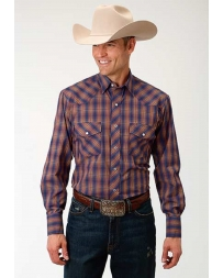Roper® Men's Long Sleeve Western Style Shirt