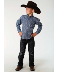 Roper® Boys' Long Sleeve Western Shirt