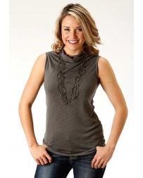 Roper® Ladies' Cowl Neck Sleeveless Top