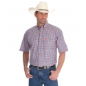 George Strait® Men's Short Sleeve Plaid Shirt - Big & Tall