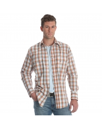 Wrangler® Men's Wrinkle Resist Long Sleeve Shirt - Big & Tall