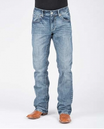 Stetson® Men's Lite Wash Rocks 1014 Fit Jeans