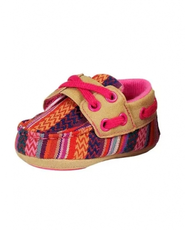 Blazin Roxx® Girls' Riley Baby Bucker Mocs