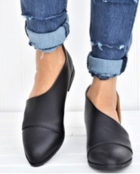 Ladies' Peep Side Shoe