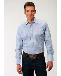 Roper® Men's Long Sleeve Stripe Dress Shirt