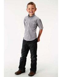 Roper® Boys' Short Sleeve Western Shirt