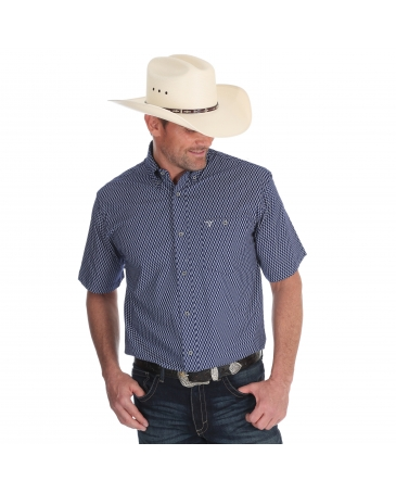 Wrangler® 20X® Men's Competition Advanced Comfort Short Sleeve Shirt - Tall
