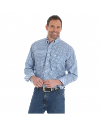 George Strait® Men's Long Sleeve Print Shirt - Big & Tall