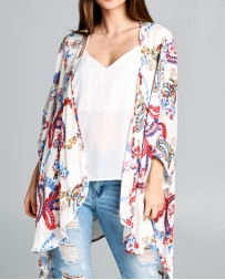 Younique® Ladies' Paisley Cardigan
