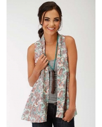 Roper® Ladies' Paisley Vest