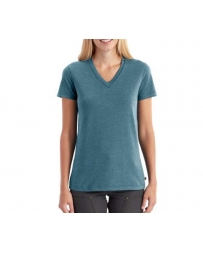 Carhartt® Ladies' Lockhart Short-Sleeve V-Neck Tee