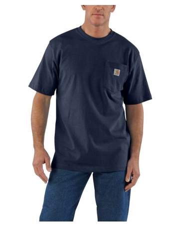 Carhartt® Men's Short Sleeve Workwear Pocket Tee - Big & Tall