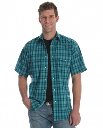 Wrangler® Men's Wrinkle Resist Short Sleeve Shirt - Big & Tall