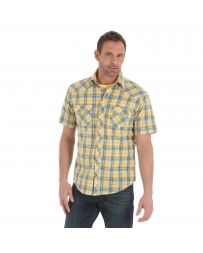 Wrangler Retro® Men's Short Sleeve Plaid Shirt - Tall