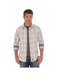 Wrangler Retro® Men's Long Sleeve Plaid Shirt