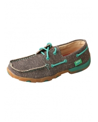 Twisted X Boots® Ladies' ECO Canvas Low Driving Moc