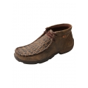 Twisted X Boots® Men's Driving Moc Cayman Gator Print