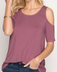 She + Sky® Ladies' Criss Cross Back Top