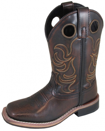 Smoky Mountain® Boots Kids' Landry Square Toe Boots