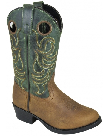 Smoky Mountain® Boots Kids' Henry Western Toe Boots