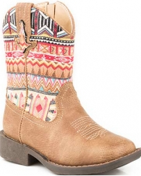 Roper® Girls' Toddler Aztec Boot