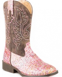 Roper® Girls' Glitter Aztec Boot