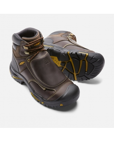 "Mt Vernon 6"" MET Waterproof American Made Steel Toe"