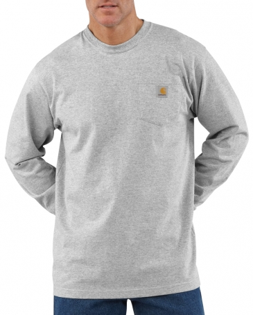 Carhartt® Men's Long Sleeve Pocket Workwear Tee - Big