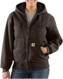 Carhartt® Ladies' Sandstone Quilted-Flannel Lined Active Jacket