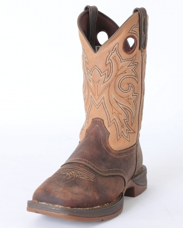 "Rebel by Durango® Men's Saddle Up 11"" Western Boots"