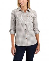 Carhartt® Ladies' Force® Ridgefield Plaid Shirt