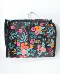 C & K Import Designs® Ladies' Cosmetic Marion Floral Bag