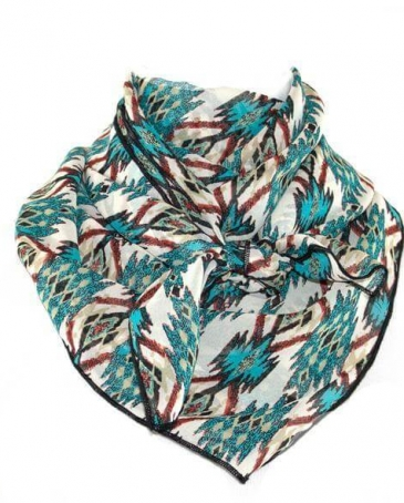 Whipin Wild Rags® Men's Tribes N Turquoise