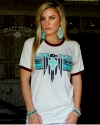 Crazy Train® Ladies' Phoenix Freedom Tee
