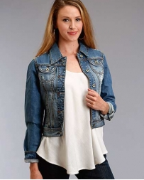 Stetson® Ladies' Shrunken Denim Jacket